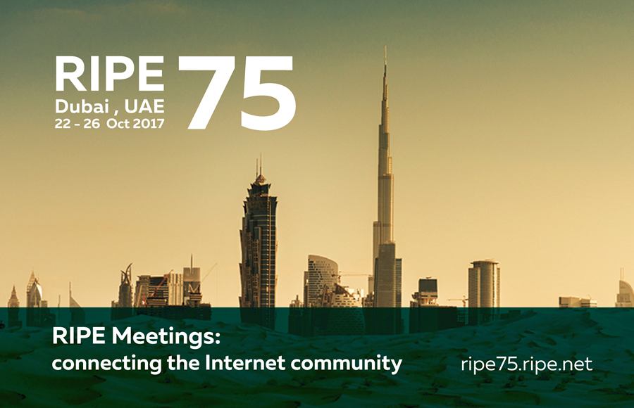 RIPE 75 Digital Banner
